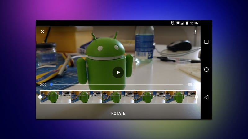 Google photos brings back the rotate video feature it removed for android your phone does the best it can to figure out which way a video should be rotated but sometimes it messes up a long time ago googles photos app ccuart Choice Image