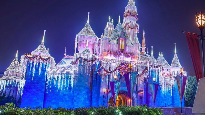 This Time Lapse Video Of Disneyland Transforming For The