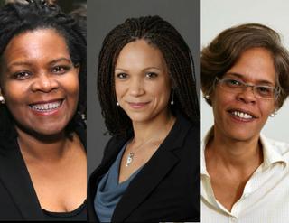 Annette Gordon-Reed (Neilson Barnard/Getty Images); Melissa Harris-Perry (tv.msnbc.com); Amy Wilkins (slif.org)