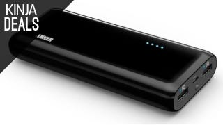 Illustration for article titled Anker's Biggest External Charger is Only $30 Right Now