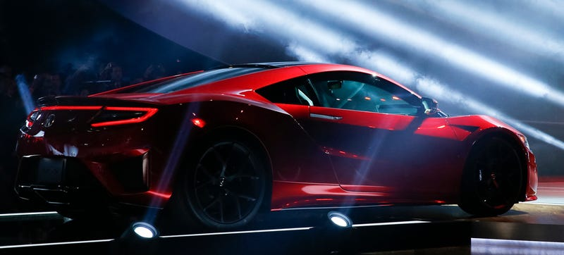 Illustration for article titled What Exactly Will The 2016 Acura NSX Compete Against?