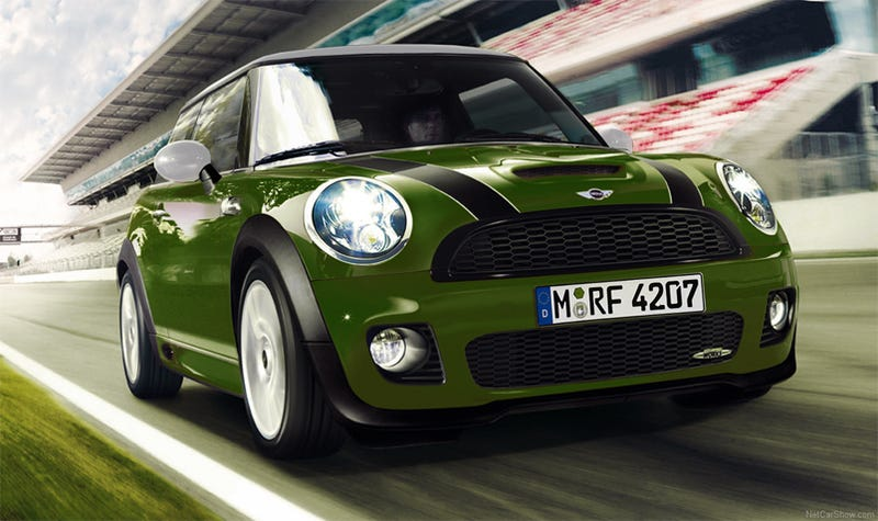 Illustration for article titled MINI John Cooper F1 Special Edition In Works For MINI United