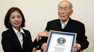 The world's oldest man has died at the age of 112. Japan's Sakari Momoi was born on February 5, 1903, just months before the Wright Brothers made their inaugural flight. The title of oldest living man now goes to Japan's Yasutaro Koide, who was born a month after Momoi. Susannah M. Jones of the U.S. is the oldest living woman at 116.