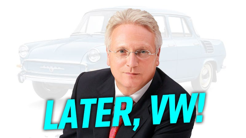 Illustration for article titled Volkswagen's New North America Boss Steps Down After Two Whole Weeks