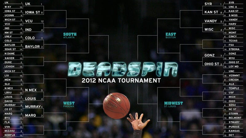 Illustration for article titled Deadspin Does March Madness