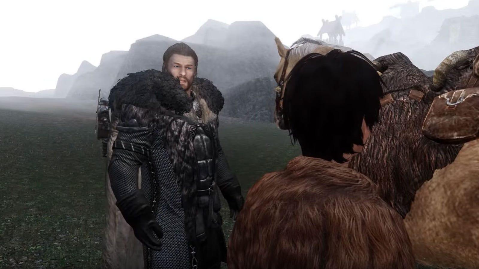 260 Mods Turn Skyrim Into A Game Of Thrones Trailer
