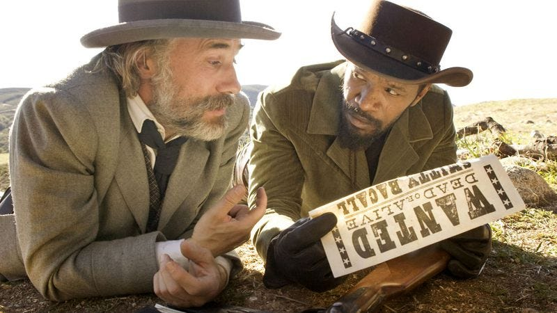 Illustration for article titled Quentin Tarantino wants to recut Django Unchained as a miniseries