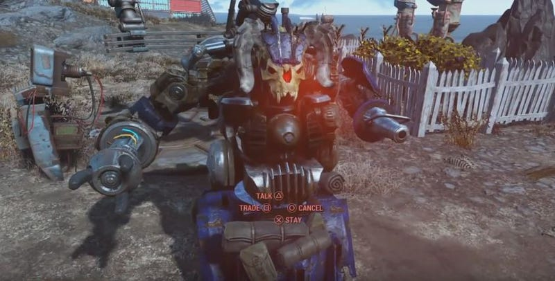 Fallout 4 Players Are Turning Codsworth Into A Monster In