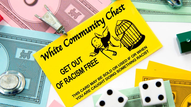 Illustration for article titled The Definitive List of Get-Out-of-Racism Free Cards