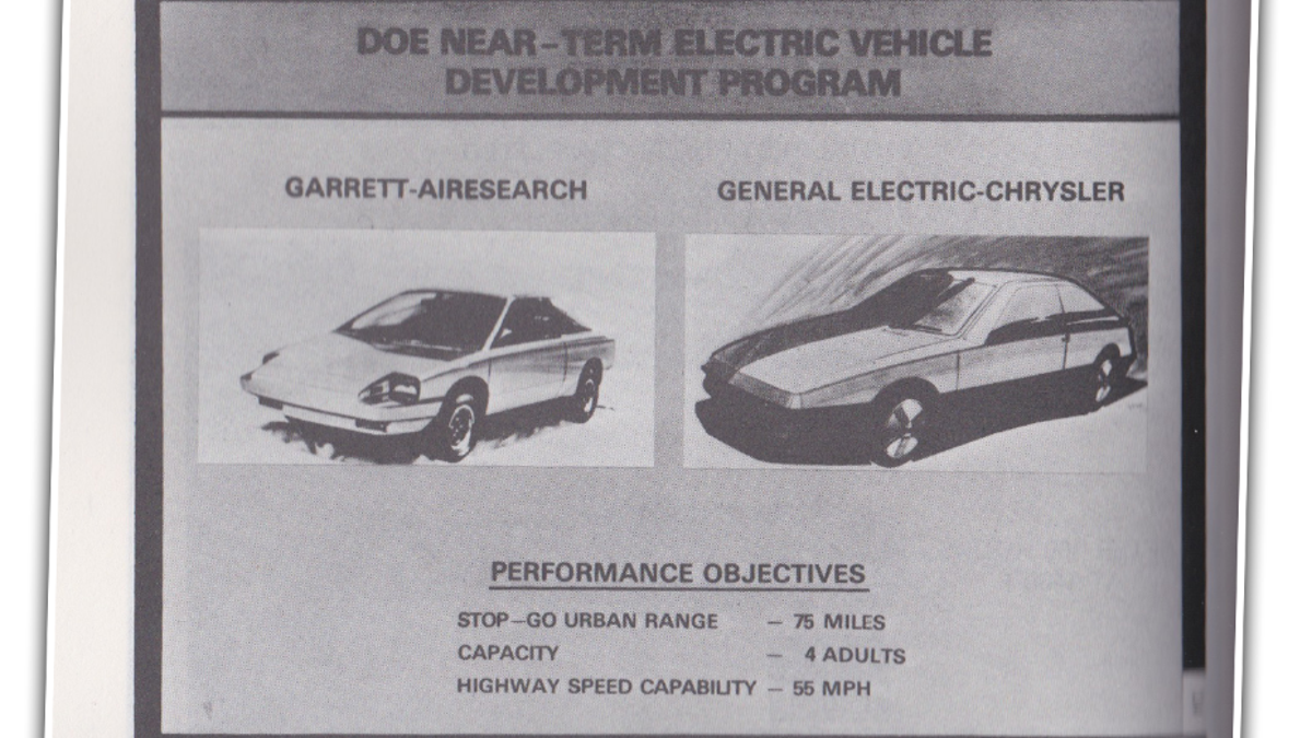 NASA\'s Forgotten Electric Car From 1979 Is Utterly Fascinating