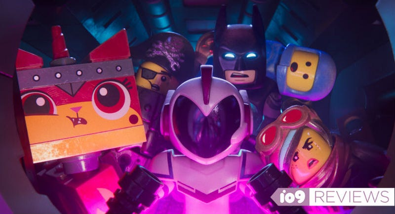An alien named Sweet Mayhem captures our Lego heroes and brings them to space in The Lego Movie 2.