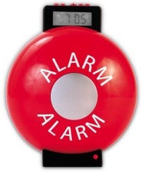 Illustration for article titled Firebell Alarm Clock is Loud, Brings Back Bad Memories