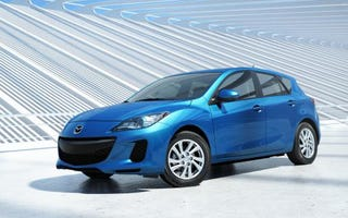 Illustration for article titled 2012 Mazda3 gets new engine, tones down LOLface
