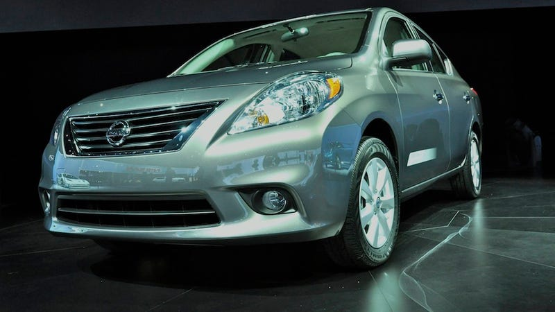 Illustration for article titled 2012 Nissan Versa arrives for ten bucks less than $11,000