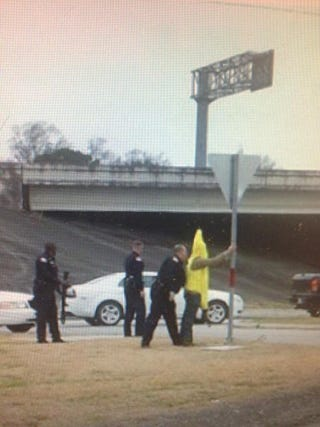 Illustration for article titled Beaumont police arrests Banana armed with an AK47.