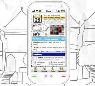 Illustration for article titled Video: Concept Symbian Interface Blends Augmented Reality Maps and Social Networking
