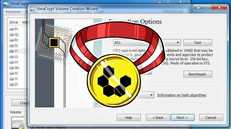 Illustration for article titled Most Popular File Encryption Tool: VeraCrypt