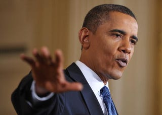 President Obama at a White House news conference Sept. 10, 2010.(Mandel Ngan/AFP/Getty Images)