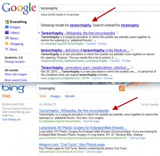 Illustration for article titled Google Caught Bing Stealing Its Search Results