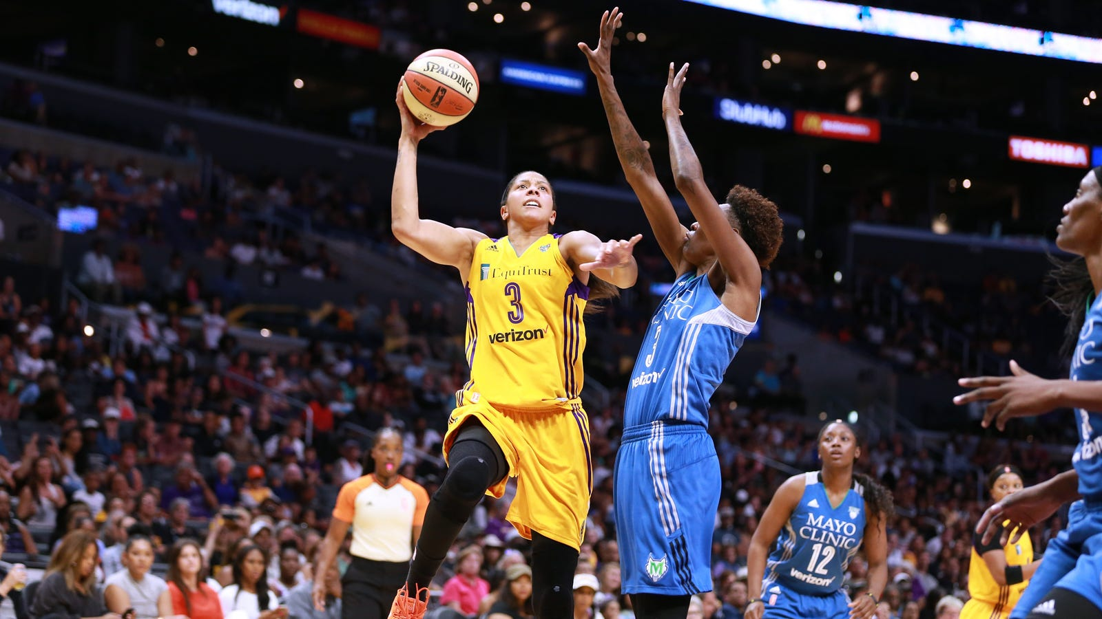 The Battle To Stop A Sparks-Lynx Rematch In The WNBA ...