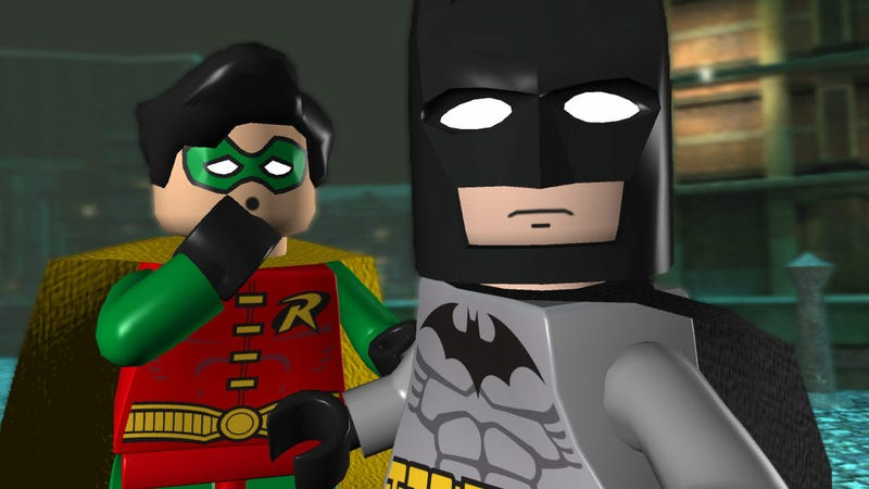 Batman and Robin arrive at the scene of the crime to find some fancy collectables and probably save the day