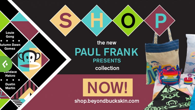 Illustration for article titled After Offensive Fiasco, Paul Frank Collaborates With Native Designers