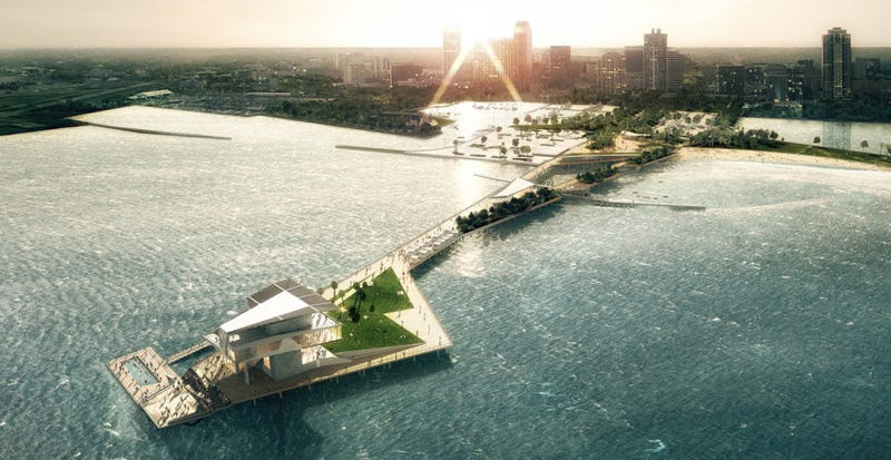 St. Petersburg's proposed pier by Rogers Partners Architects+Urban Designers, Ken Smith Landscape Architect and ASD.