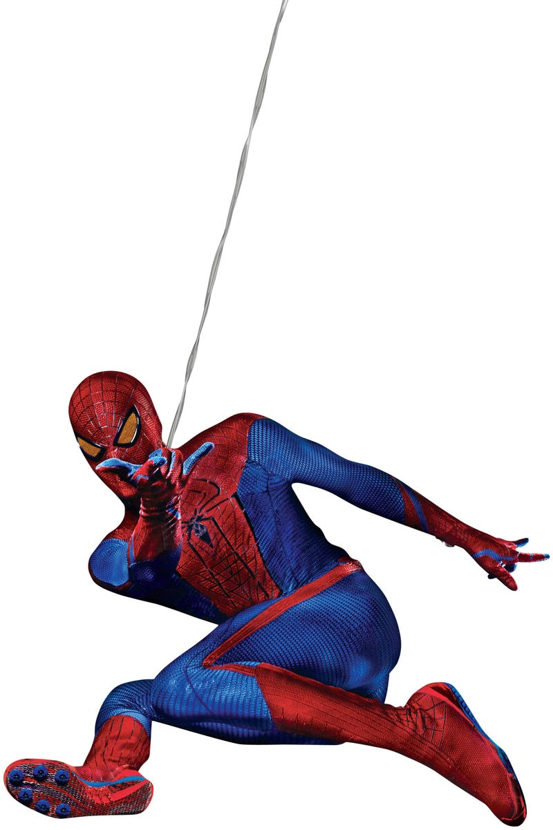Illustration for article titled A Closer Look at Spidey's New Suit