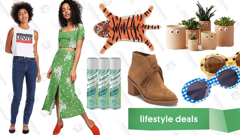 Illustration for article titled Monday's Best Lifestyle Deals: Batiste, Levi's, Free People, Urban Outfitters, and More