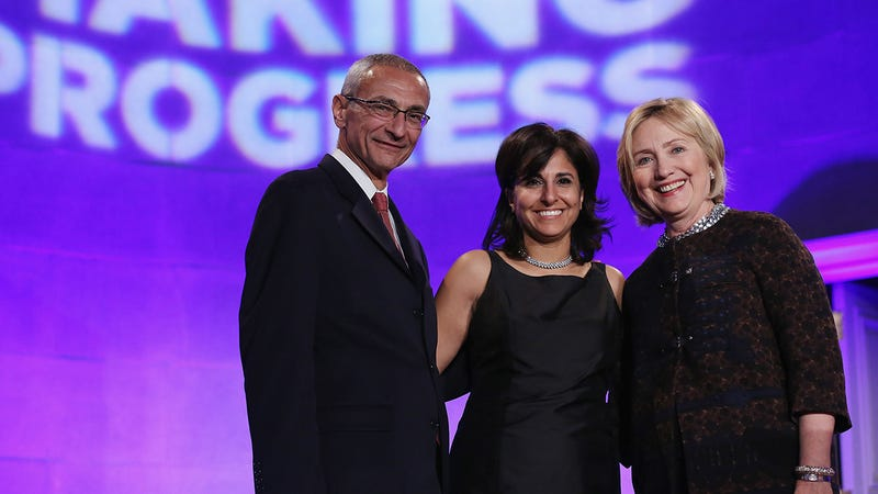 John Podesta, Neera Tanden, Hillary Clinton | Image: Getty