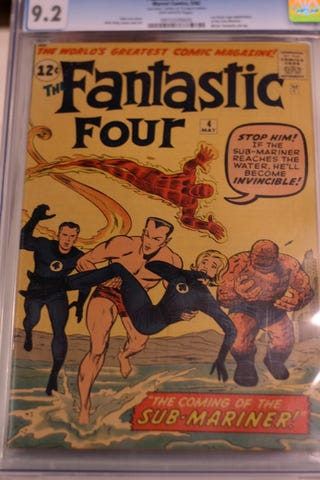 Illustration for article titled 10.) Fantastic Four #4