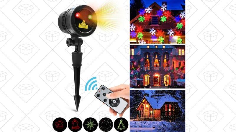 Vansky Holiday Laser Light, $34 with code KU2HOLOT