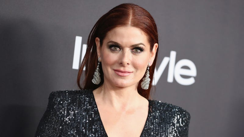 Illustration for article titled America now at war with Debra Messing, we guess