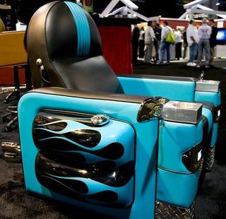 Illustration for article titled The Harley-Davidson Chair Goes Vroom Vroom