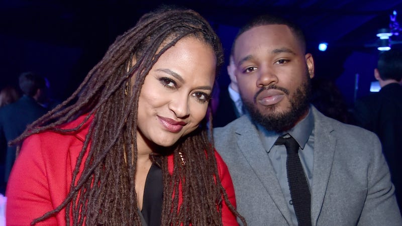 DuVernay and Coogler at the premiere of The Force Awakens in 2015.