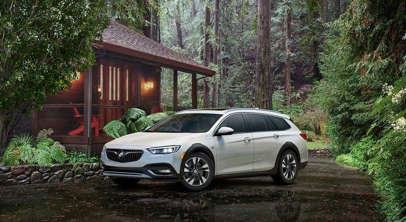 Holy Crap The 2017 Buick Regal Is Actually A Hatchback And A Wagon