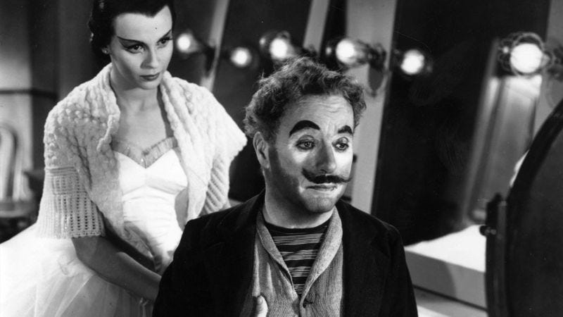 Illustration for article titled Charlie Chaplin's Limelight has more pathos than laughs