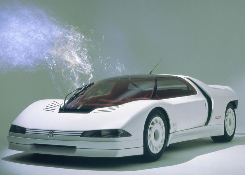 Meet The Peugeot Quasar A Group B Supercar For The Road