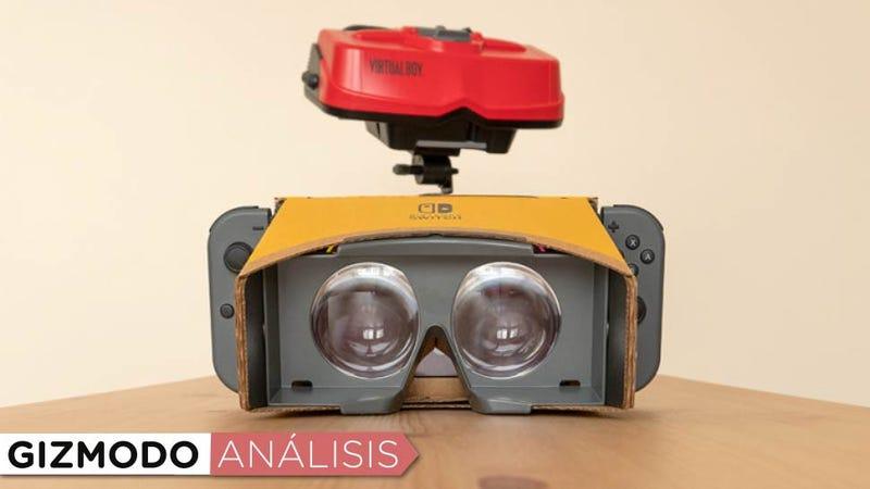Illustration for article titled Labo VR es una de las formas más divertidas de disfrutar de la realidad virtual por poco dinero