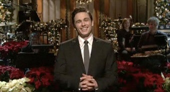 Illustration for article titled Snooki, Baby Hands, Jammies, And Make Out Sessions: James Franco Hosts The Last SNL Of The Decade