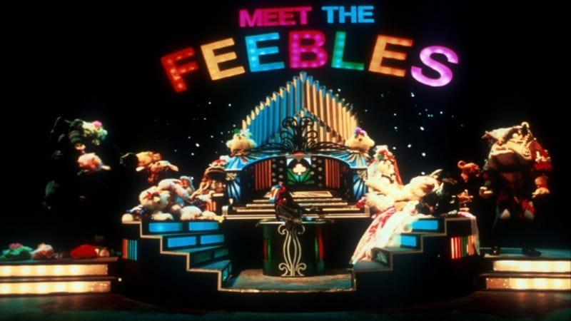 The whole gang is here, for now, in Meet the Feebles.