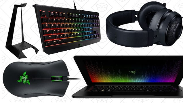 All Of Your Favorite Razer Gaming Gear Is On Sale In Amazon's Gold Box, Today Only