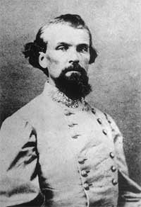 Confederate Gen. Nathan Bedford Forrest,an early leader of the Ku Klux Klan