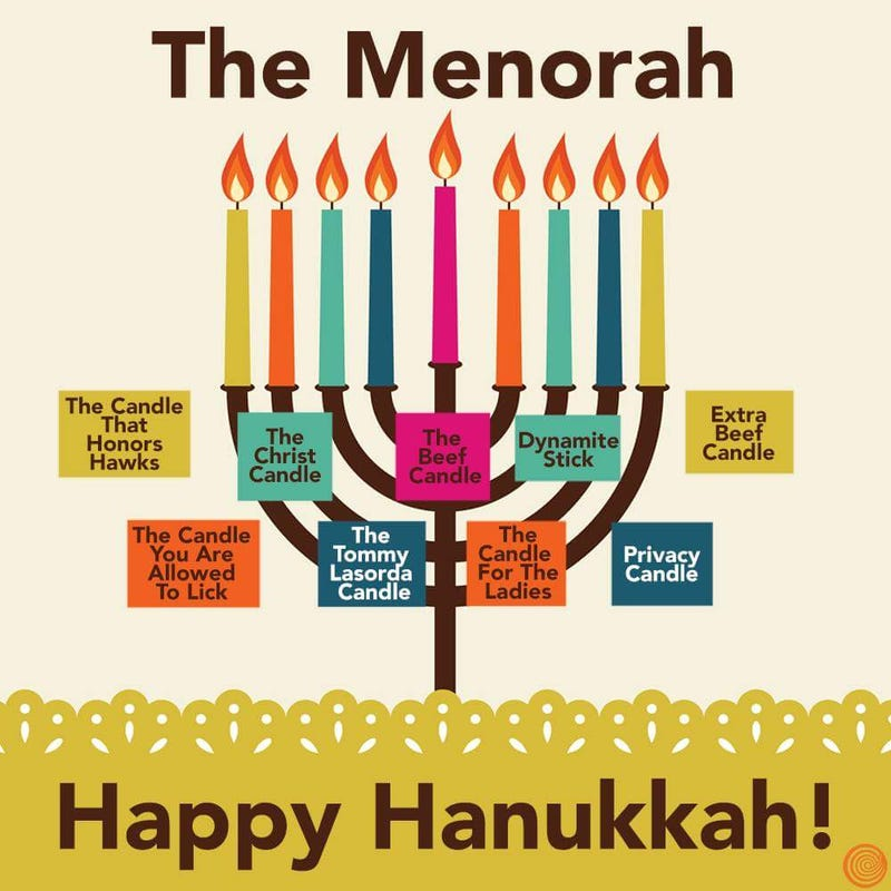 Illustration for article titled Happy Hanukkah