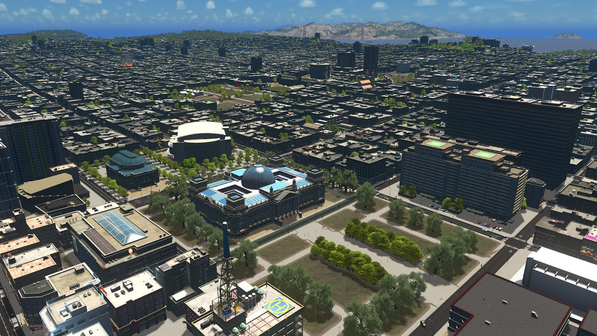 Cities Skylines Player Spends Hundreds Of Hours Building A