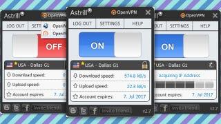 Illustration for article titled Most Popular VPN Service Provider: Astrill VPN