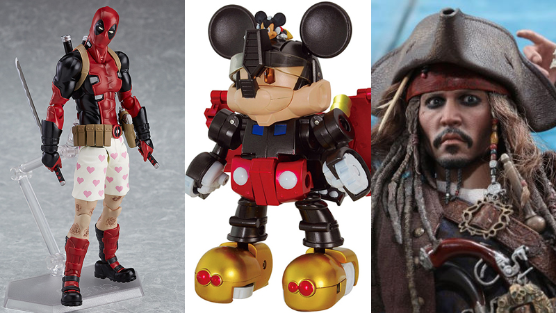 Illustration for article titled Mickey Mouse Becomes a Transformer, and the Rest of the Coolest Toys We Saw This Week