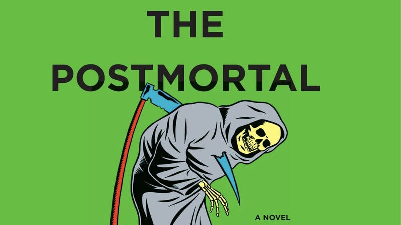 book review drew magarys postmortal essay The postmortal starts with susurrations that an anti-aging remedy has been discovered this is similar to the human capacity sweetening proposal speculated in chapter.