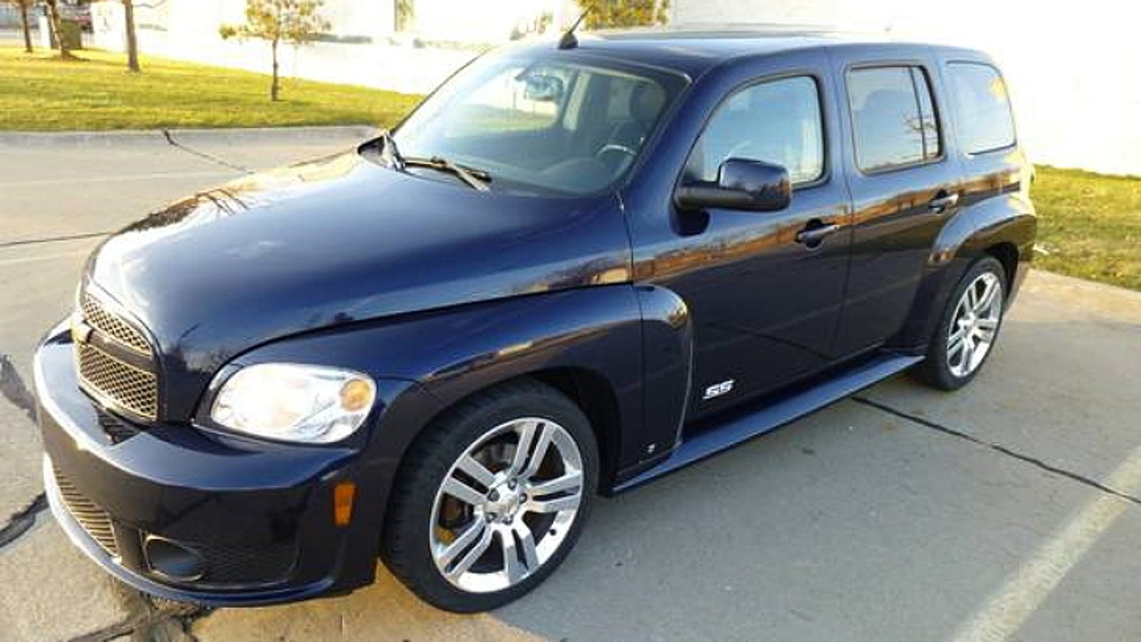 BMW Driving School >> For $7,900, This 2008 Chevy HHR SS Could Be Your Retro Rocket - No Really