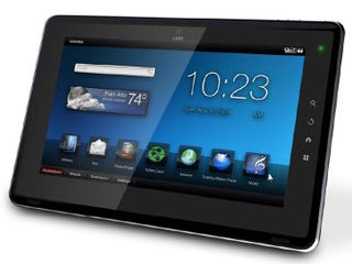 Illustration for article titled Toshiba Folio Android Tablet Official Details